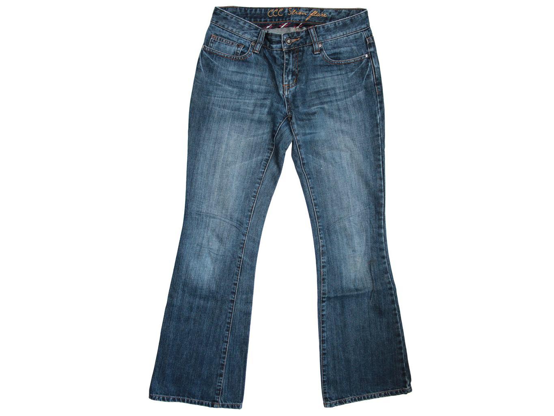 Женские джинсы клеш CREW CLOTHING