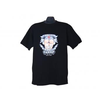 Мужская черная прикольная футболка BEC COLLECTION, L