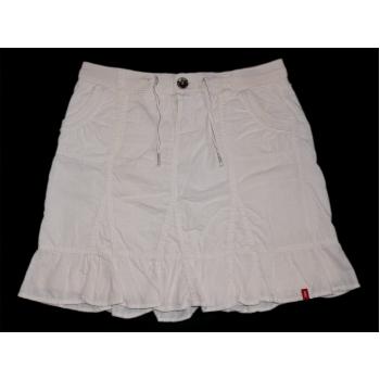 Женская белая юбка трапеция ESPRIT, L