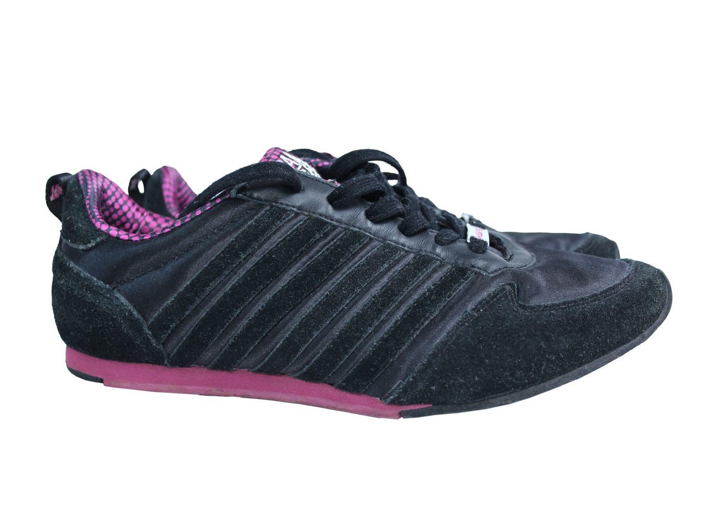 Женские замшевые черные кроссовки USA PRO 37 размер