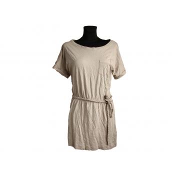 Женское бежевое платье NEW LOOK, S