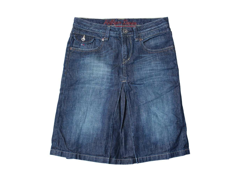 bf1b20be365 Женская джинсовая миди юбка TOMMY HILFIGER