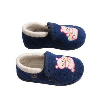 Синие тапочки для малыша на 1-2 года