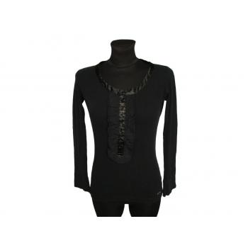 Кофта черная женская с декольте BIG STAR, XS