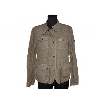 Женская зеленая блестящая куртка GAP, XS