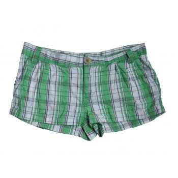 Женские зеленые мини шорты в клетку ONLY, S