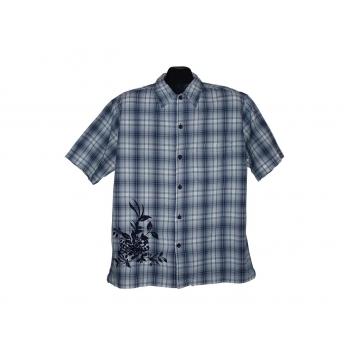 Мужская рубашка в клетку RIVER ISLAND, L