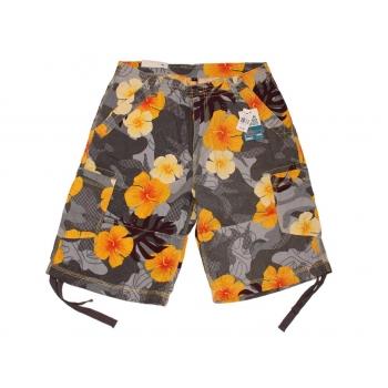 Мужские цветные льняные шорты DENIM CARGO W 32