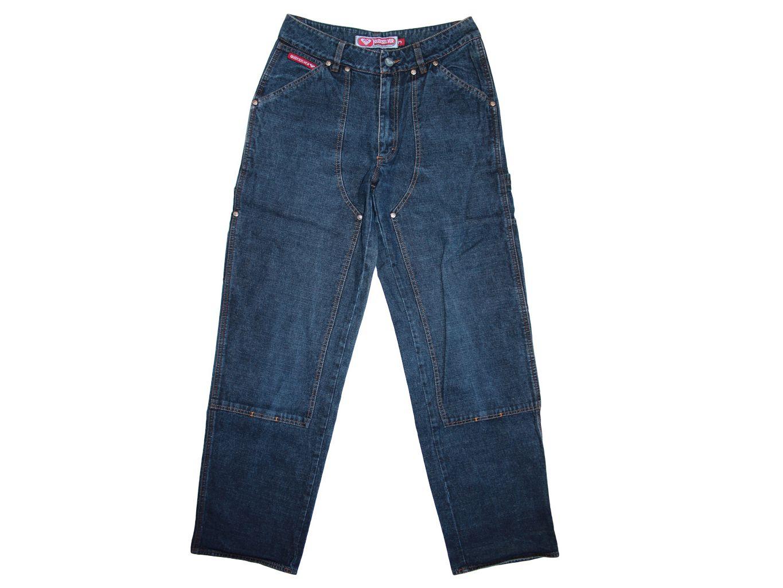 Подростковые синие джинсы QUIKSILVER W 28 L 32