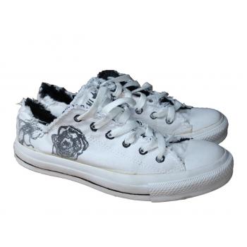 Женские белые кеды CONVERSE ALL STAR 38 размер