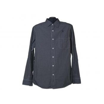 Мужская серая рубашка в клетку G-STAR