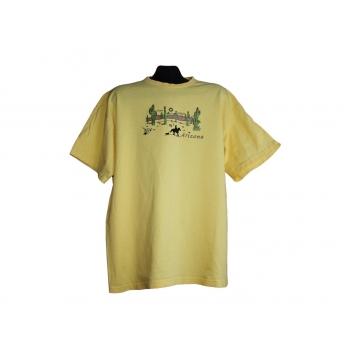 Мужская желтая футболка ARIZONA, XXL