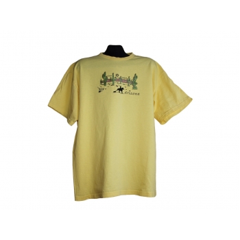 Мужская желтая футболка ARIZONA
