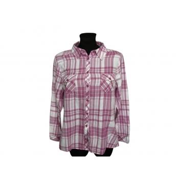 Женская теплая рубашка в клетку EWM, М