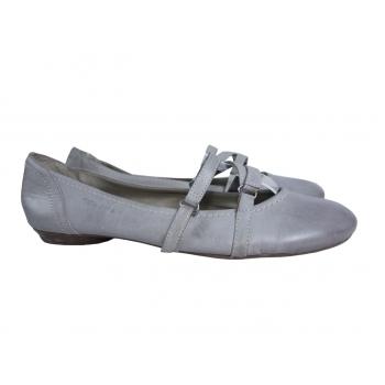 Женские кожаные балетки TAMARIS 40 размер