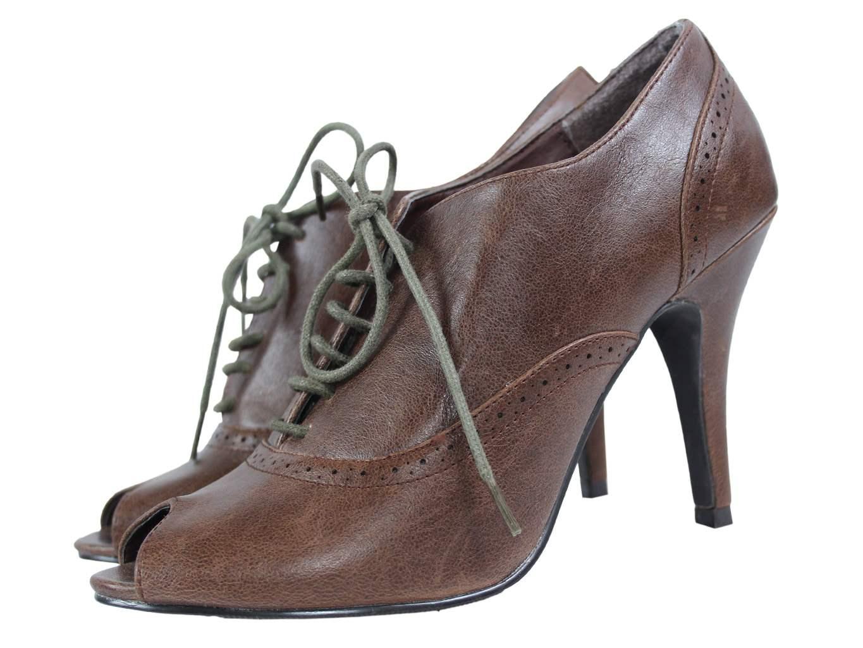 Женские туфли с открытым носком FIORE 38 размер