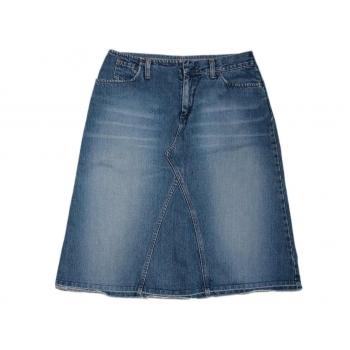 Женская джинсовая юбка трапеция BENETTON
