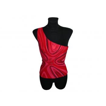 Красная майка на одно плечо NEW LOOK, XXS