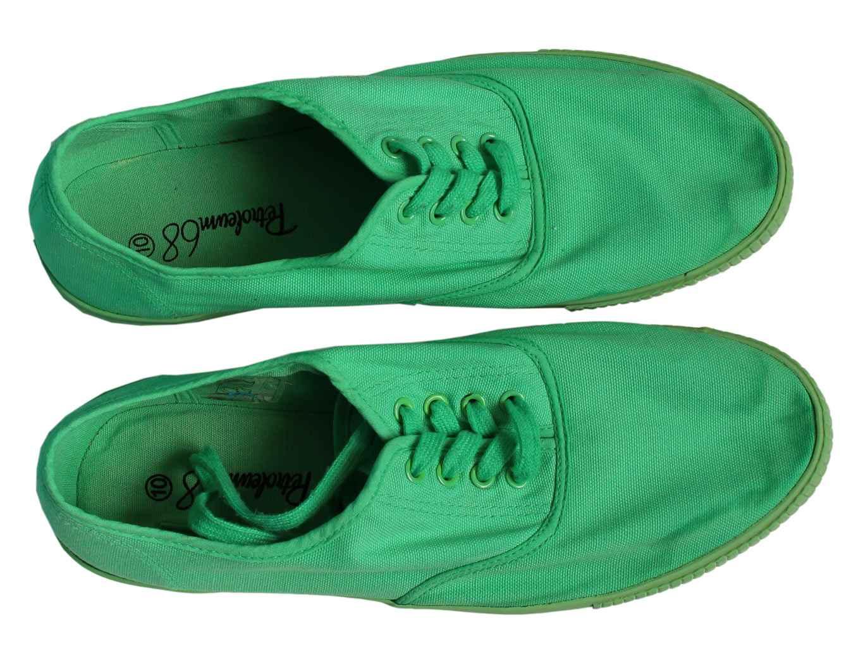 Мужские зеленые кеды PETROLEUM 44 размер