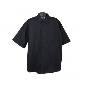 Рубашка мужская черная PREGO MENS FASHION, 3XL