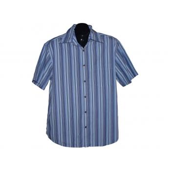 Мужская синяя рубашка в полоску NEXT, L