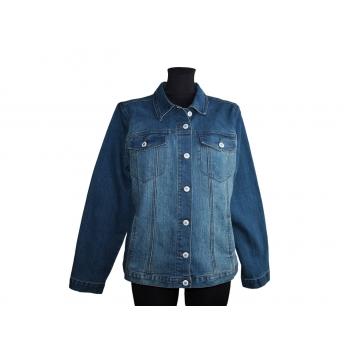 Женская синяя джинсовая куртка GEFA JEANS, L