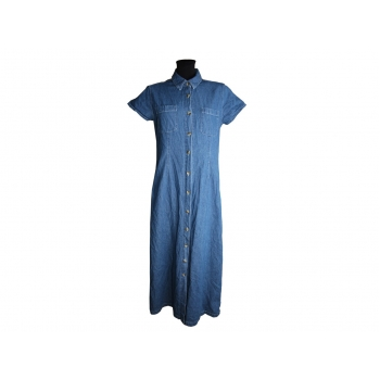 Женское длинное джинсовое платье JENNIFER