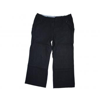 Женские широкие льняные брюки NEW LOOK, L