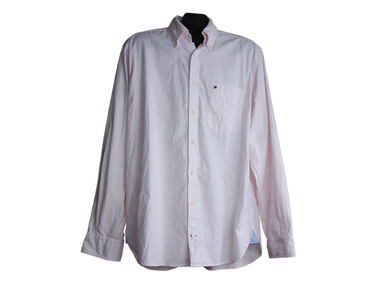 57d5b9b6419e Рубашка розовая Б/У, мужская, L, TOMMY HILFIGER, цена до 599, купить ...