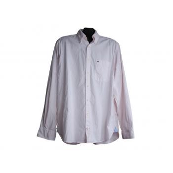 Мужская розовая рубашка TOMMY HILFIGER, L