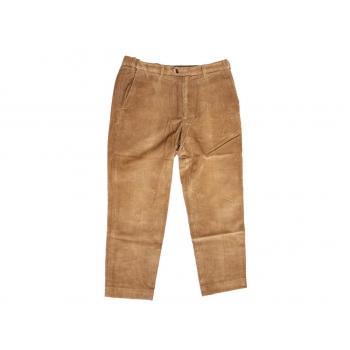 Мужские коричневые вельветовые брюки MARKS & SPENCER W 34 L 32