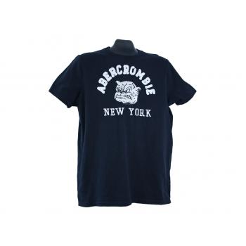 Мужская синяя футболка ABERCROMBIE & FITCH, М