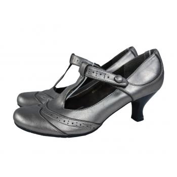 Женские кожаные туфли 37 размер
