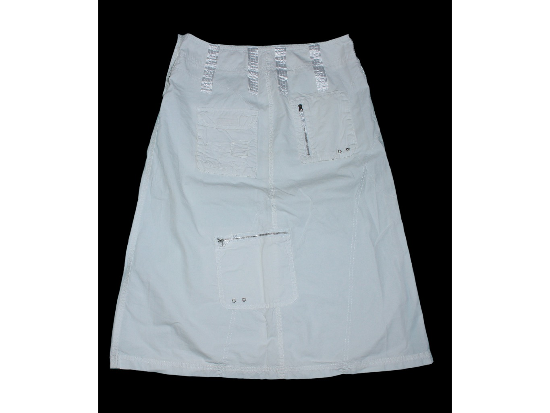 Женская белая длинная юбка ESPRIT, М