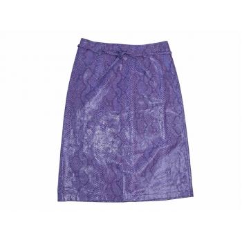 Женская кожаная юбка миди BIK BOK, XS