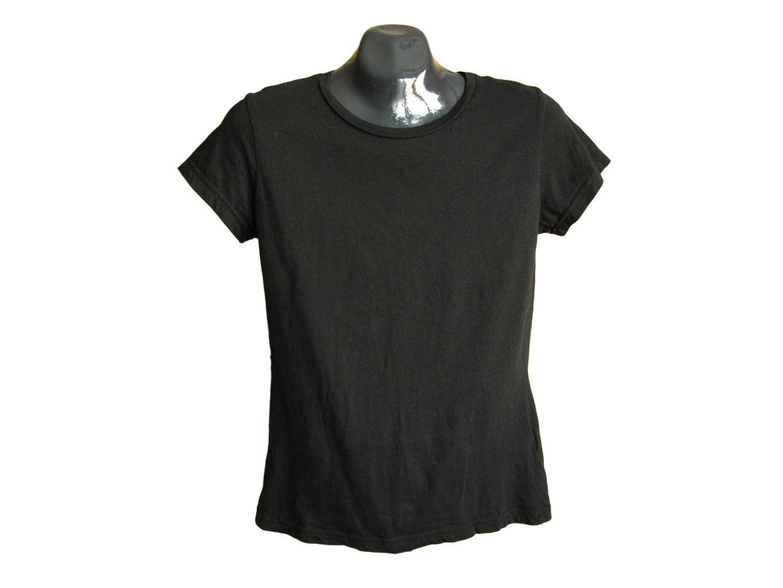 Женская черная футболка H&M, S