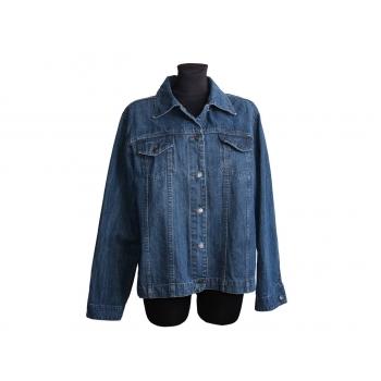 Женская синяя джинсовая куртка весна осень, XL