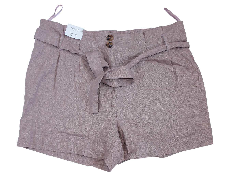 Женские льняные шорты NEW LOOK, XL