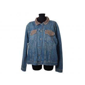 Женская синяя джинсовая куртка ETAM, XXXL