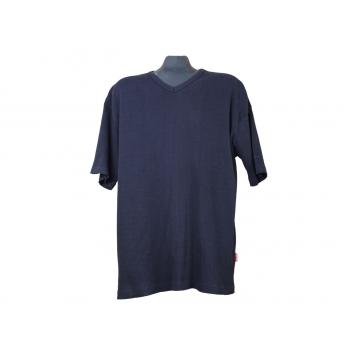 Мужская синяя футболка BLUE, XXL
