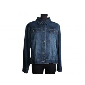 Женская синяя джинсовая куртка LINDEX, XL