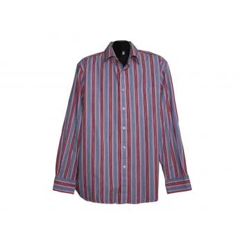 Мужская красная рубашка  в полоску URBAN SPIRIT, L