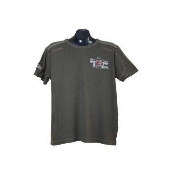 Мужская зеленая футболка GIN TONIC