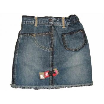 Джинсовая юбка для девочки 3-5 лет EAGER BEAVER