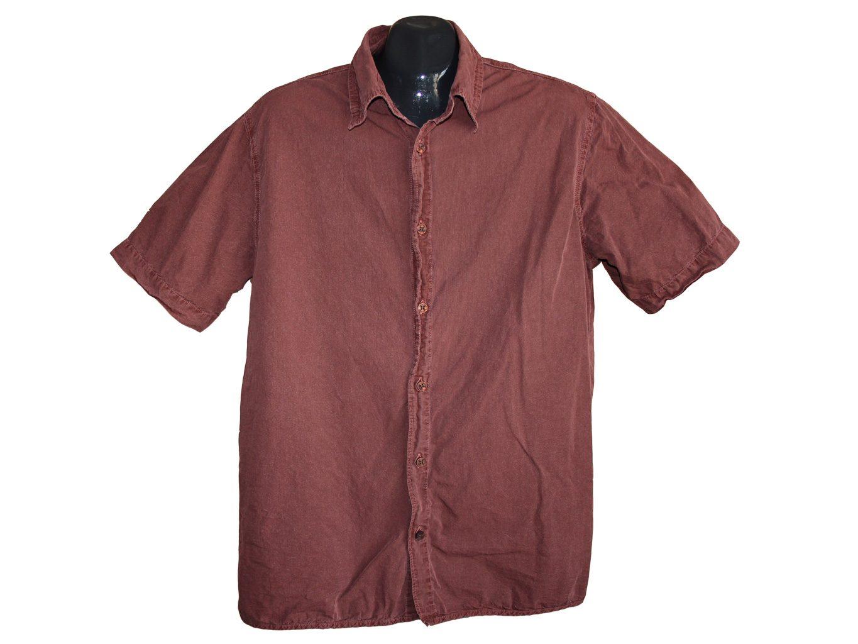 Мужская коричневая рубашка LEVIS, М