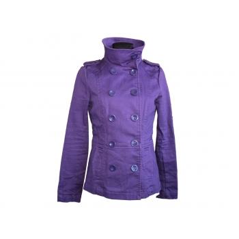 Женское фиолетовое демисезонное пальто H&M, S