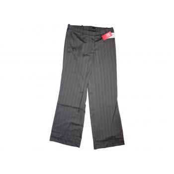 Женские серые классические брюки H&M, S