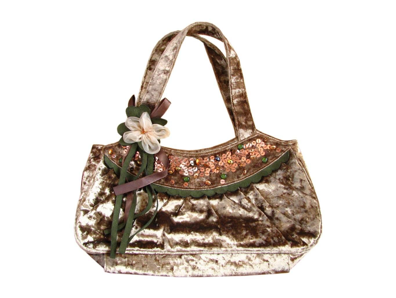 Золотистая женская сумочка PER UNA