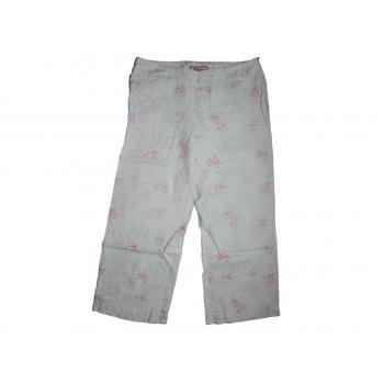 Женские цветные льняные брюки JACK POT, М