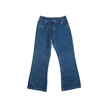 Для девочки 9-12 лет джинсы клеш GEORGE